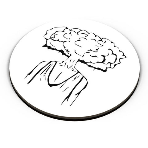 PosterGuy | Mind Blown Illustration Fridge Magnet Online India by Pulkit Taneja
