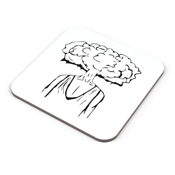 Buy Coasters Online | Mind Blown Illustration Coaster Online India | PosterGuy.in