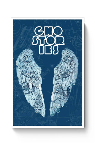 Coldplay Ghost Stories Fan Art Poster Online India
