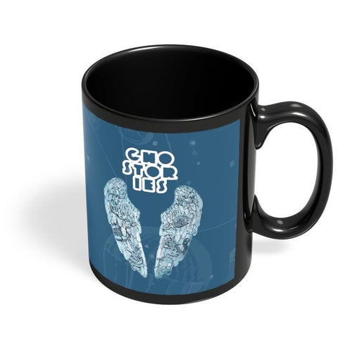 Coffee Mugs Online | Coldplay Ghost Stories Fan Art Black Coffee Mug Online India