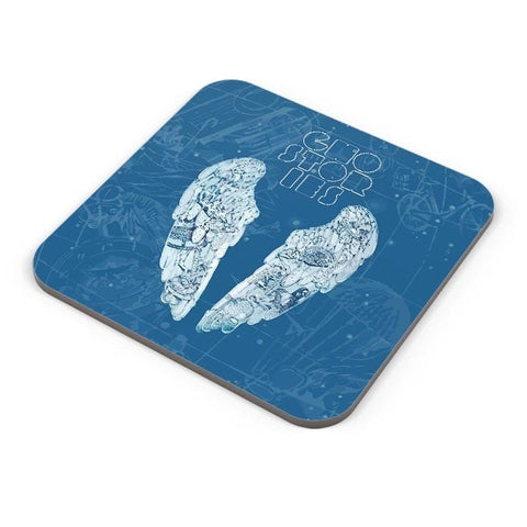 Buy Coasters Online | Coldplay Ghost Stories Fan Art Coasters Online India | PosterGuy.in