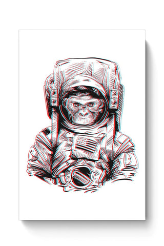 Buy 3D Space Monkey Poster