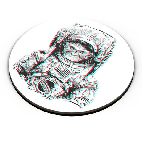 3D Space Monkey Fridge Magnet Online India