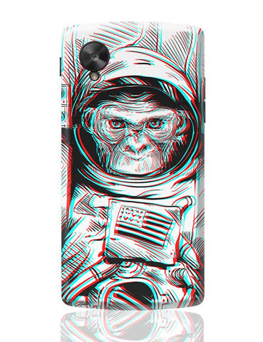 3D Space Monkey Google Nexus 5 Covers Cases Online India
