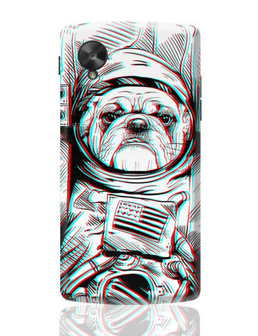 3D Space Dog Google Nexus 5 Covers Cases Online India