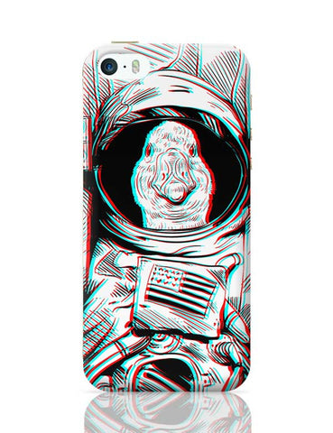 3D Space Duck iPhone 5/5S Covers Cases Online India