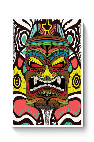 Tiki Monster Poster Online India