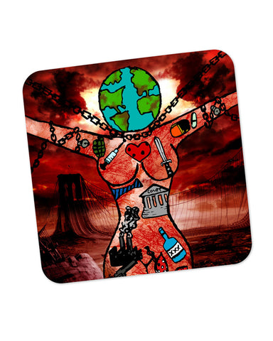 Dearth Earth and Woman  Coaster Online India