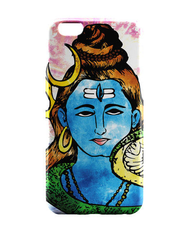 iPhone 6 Case & iPhone 6S Case | Lord Shiva Graphic Illustration iPhone 6 | iPhone 6S Case Online India | PosterGuy