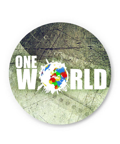 One World Graphic Design Fridge Magnet Online India