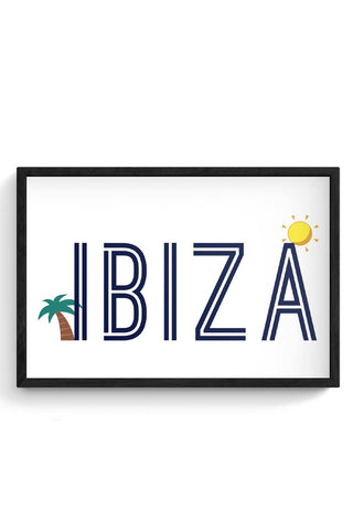 IBIZA Framed Poster Online India