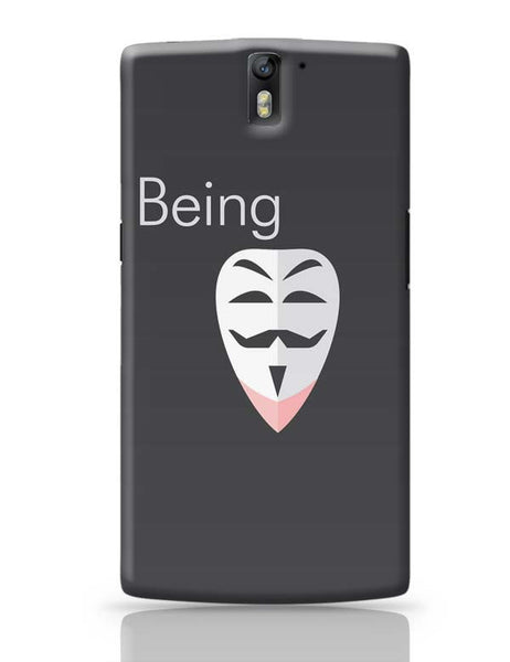 Being Anonymous OnePlus One Covers Cases Online India