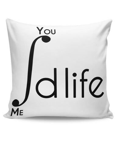 Me and You Integration Funny Parody Cushion Cover Online India