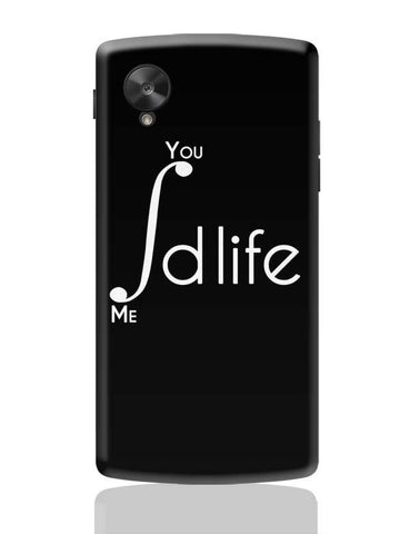 Google Nexus 5 Covers | Me and You Integration Funny Parody Google Nexus 5 Case Cover Online India