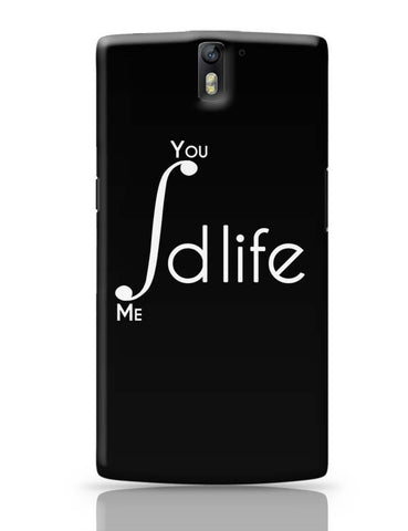 Me and You Integration Funny Parody OnePlus One Covers Cases Online India