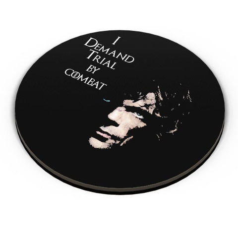 PosterGuy | I Demand Trial By Combat | Tyrion Lanister Fridge Magnet Online India by Divya Goel