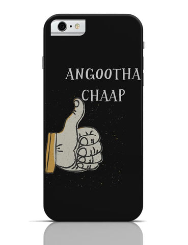 iPhone 6/6S Covers & Cases | Angootha Chaap iPhone 6 / 6S Case Cover Online India