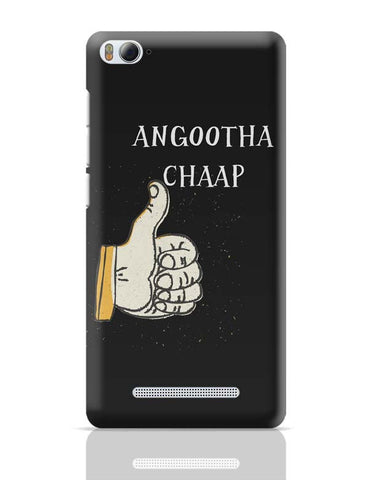 Xiaomi Mi 4i Covers | Angootha Chaap Xiaomi Mi 4i Case Cover Online India