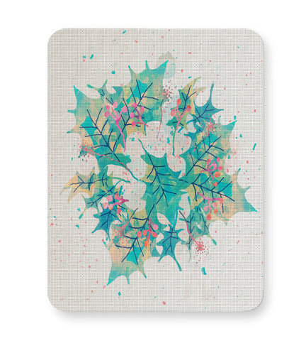 Buy Mousepads Online India | Abstract Holiday Leaves Mouse Pad Online India