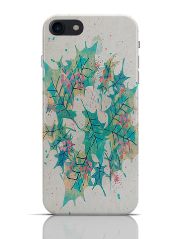 Abstract Holiday Leaves iPhone 7 Covers Cases Online India