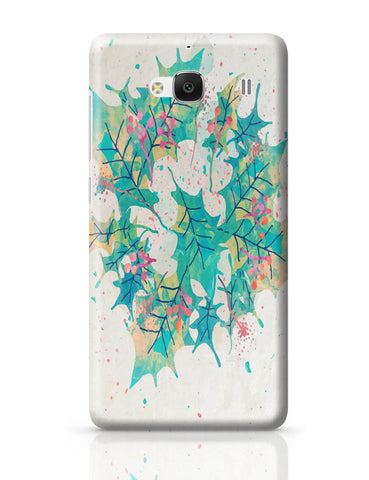 Xiaomi Redmi 2 / Redmi 2 Prime Cover| Abstract Holiday Leaves Redmi 2 / Redmi 2 Prime Cover Online India