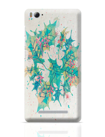 Xiaomi Mi 4i Covers | Abstract Holiday Leaves Xiaomi Mi 4i Cover Online India