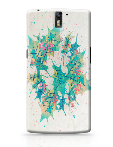 OnePlus One Covers | Abstract Holiday Leaves OnePlus One Cover Online India
