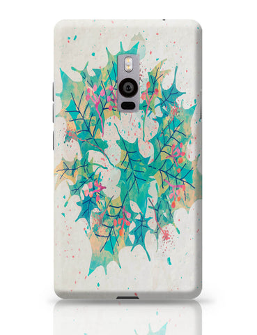 OnePlus Two Covers | Abstract Holiday Leaves OnePlus Two Cover Online India