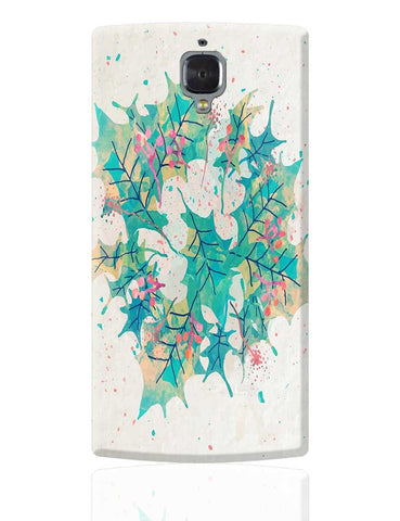 Abstract Holiday Leaves OnePlus 3 Cover Online India