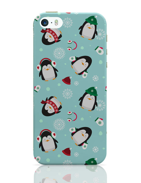 iPhone 5 / 5S Cases & Covers | Happy penguins Pattern iPhone 5 / 5S Case Online India