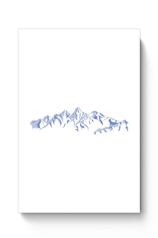Posters Online | The Dream Mountains Minimalist Poster Online India | Designed by: Divya Goel