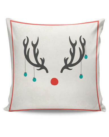 PosterGuy | Minimalist Reindeer Christmas Cushion Cover Online India