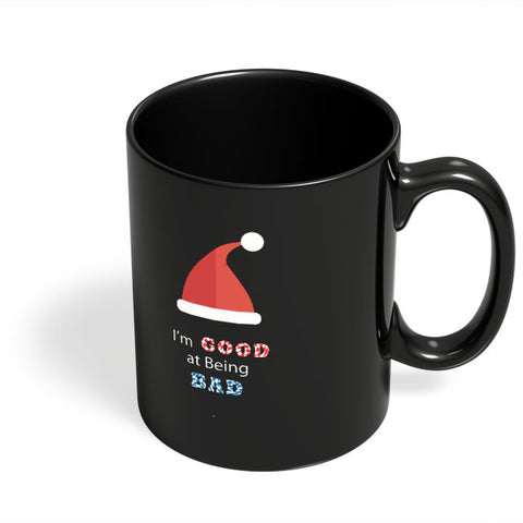 Coffee Mugs Online | I'm Good At Being Bad Black Coffee Mug Online India
