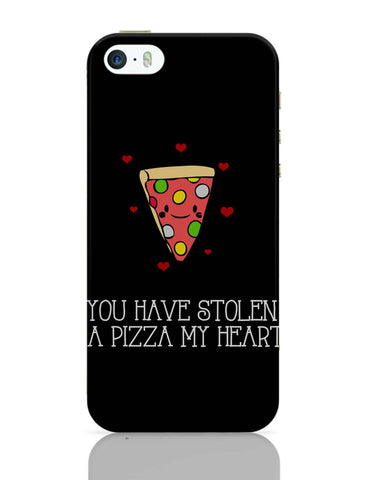 iPhone 5 / 5S Cases & Covers | You Have Stolen A Pizza My Heart | Valentine's Day Pun iPhone 5 / 5S Case Online India