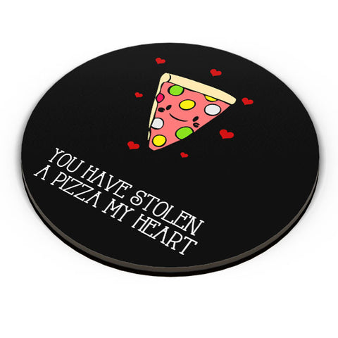 PosterGuy | You Have Stolen A Pizza My Heart | Valentine's Day Pun Fridge Magnet Online India by Pooja Bindal