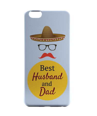 iPhone 6 Case & iPhone 6S Case | Best Husband and Dad | Father's Day iPhone 6 | iPhone 6S Case Online India | PosterGuy