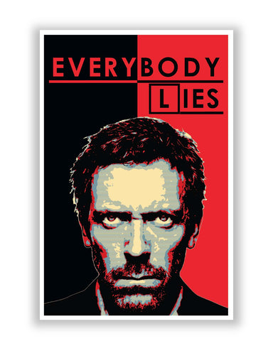Posters | Everybody Lies | House MD Poster Online India
