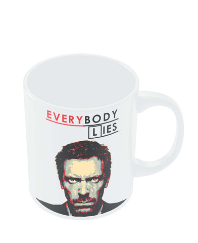 Mugs | Everybody Lies House M.D Illustration Mug Online India
