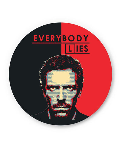 PosterGuy | Everybody Lies House M.D Illustration Fridge Magnet 1403097719 Online India