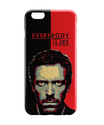 iPhone 6 Case & iPhone 6S Case | Everybody Lies House M.D Illustration iPhone 6 | iPhone 6S Case Online India | PosterGuy