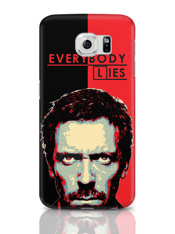 Samsung Galaxy S6 Covers & Cases | Everybody Lies House M.D Illustration Samsung Galaxy S6 Covers & Cases Online India