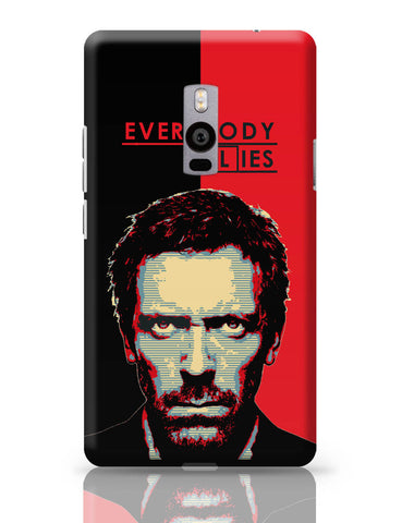 OnePlus Two Covers | Everybody Lies House M.D Illustration OnePlus Two Cover Online India