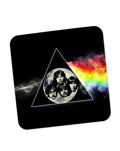 Coasters | The Dark Side Of The Moon Pink Floyd Inspired Coaster 1403107329 Online India | PosterGuy.in