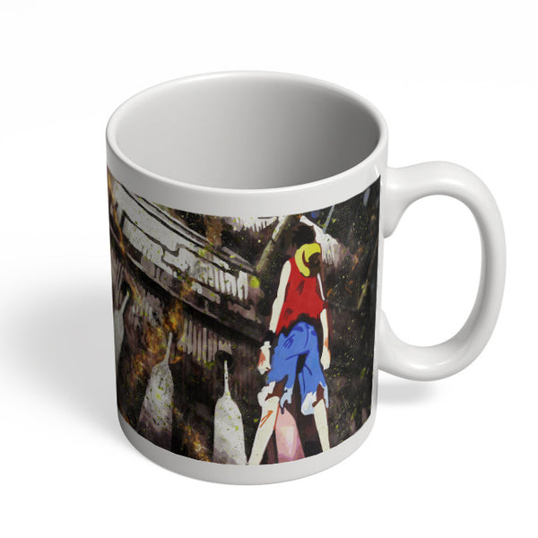 Coffee Mugs Online | Luffy In Fire | One Piece Mug Online India