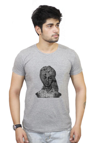 Buy Bhagat Singh Typography Illustration | Ideas Revolution  T-Shirts Online India | Bhagat Singh Typography Illustration | Ideas Revolution  T-Shirt | PosterGuy.in