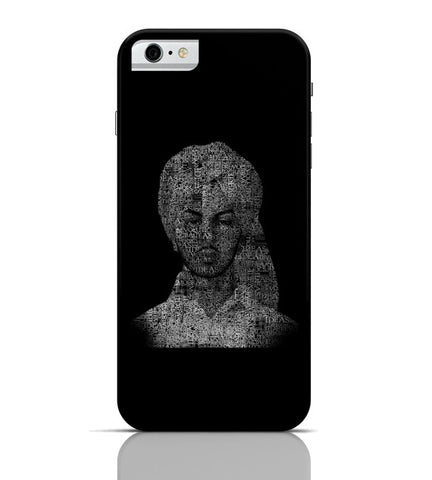 iPhone 6 Covers & Cases | Bhagat Singh Typography Illustration | Ideas Revolution iPhone 6 Case Online India
