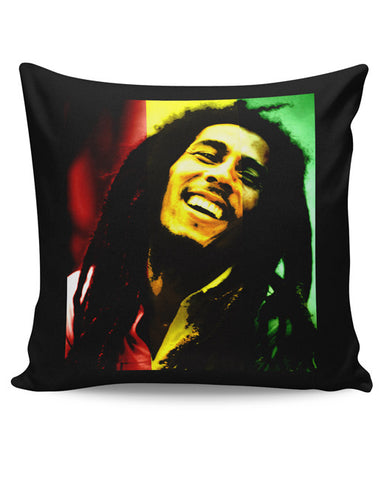 PosterGuy | Bob Marley Freedom Portrait Cushion Cover Online India