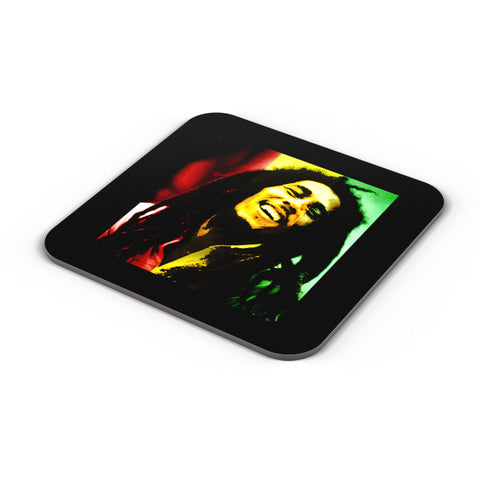 Buy Coasters Online | Bob Marley Freedom Portrait Coaster Online India | PosterGuy.in