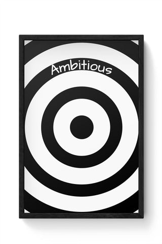 Framed Posters Online India | Ambitious | The Illusionary Life Framed Poster Online India
