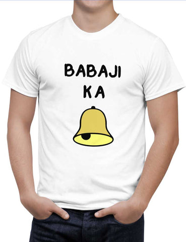 Buy Baba ji kaa ghanta Woman T-Shirts Online India | Baba ji kaa ghanta T-Shirt | PosterGuy.in